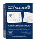 Japanese Kanji Flashcards Volume 2 (Series 3)- White Rabbit Press 900 Intermediate-Level Kanji Cards