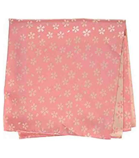 Yamada Seni Musubi - Japanese cloth - Kirara-Sakura (pink and cream)- 100% polyester