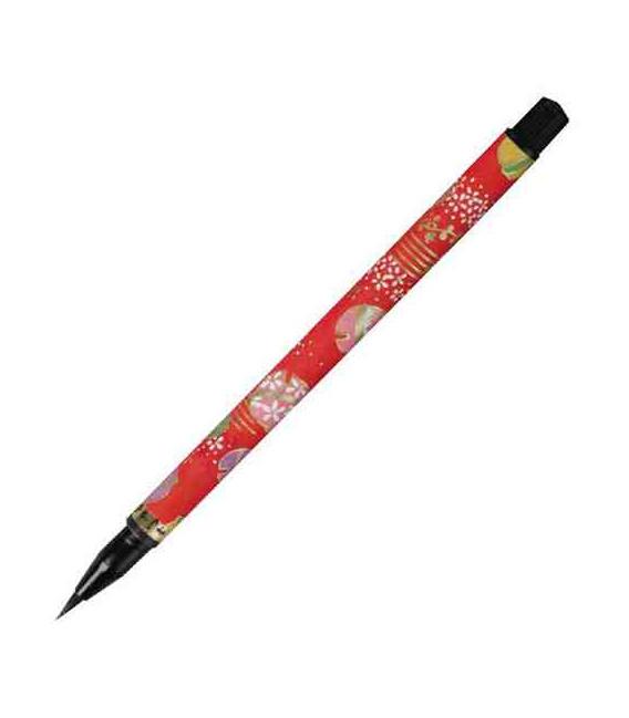 "Akashiya ""Koto"" Brush Pen (Different designs available. The design will be chosen randomly depending on the stock)"