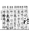 Diccionario con modelos de Kanji en diferentes estilos caligráficos- (Cuarta edición 2014)