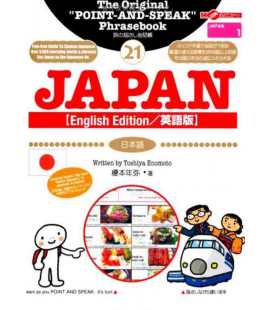 The original POINT-AND-SPEAK phrasebook - English version-  (Japan collection 21)