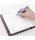Seed Slendy Plus Eraser Silver - Thin steel holder with eraser for pencil (imported from Japan)