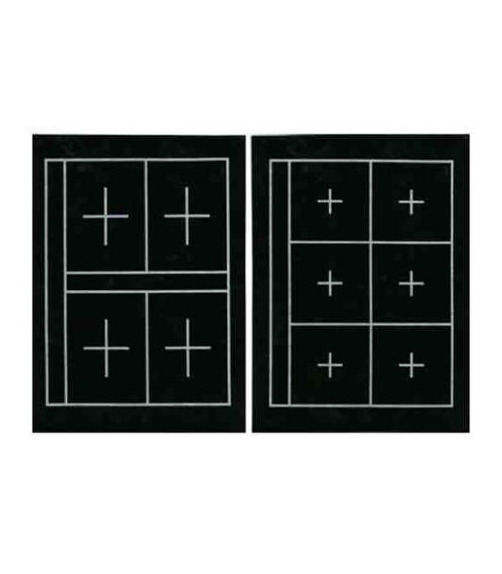 Mat for calligraphy Kuretake KA23101 (36*27 cm two sides, 6 and 4 squares on each side)