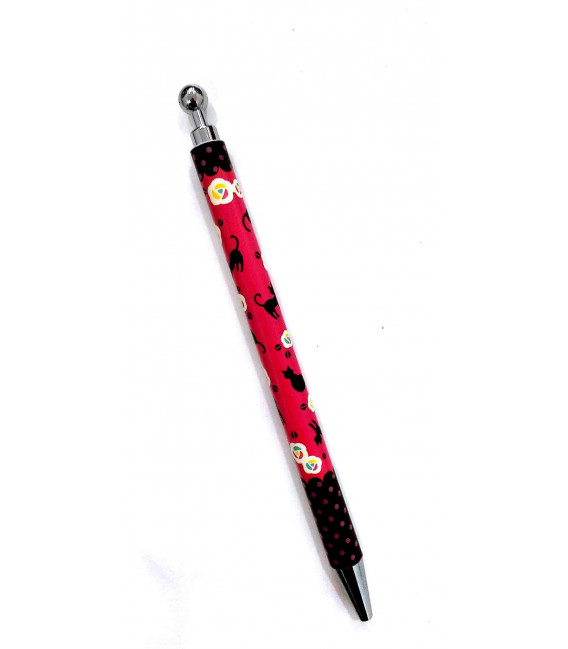 Bolígrafo japonés Kurochiku (Kyoto)- Modelo Neko