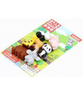 Iwako Puzzle Eraser - Zoo - (Gomas de borrar con diseños) Hecho en Japón