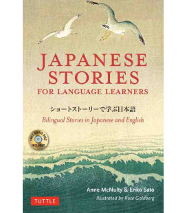 Japanese Stories for Language Learners - Bilingual Stories in Japanese and English (Incluye CD)