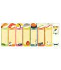 Self-adhesive bookmarkers - Kurochiku (Kyoto, Japan)- Sushi model