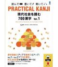 Practical Kanji - Reading topics and articles - 700 Kanji Vol.1 (Incl. audio download)