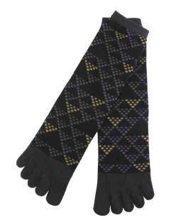 Five fingers socks for men – Kurochiku (Kyoto) – Uroko model – (one size 25-27 cm)