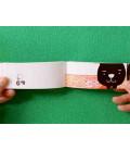 Neko no aisatsu (Flip-Book Series: In a Kitten' s Way of Greeting) by Harumin Asao