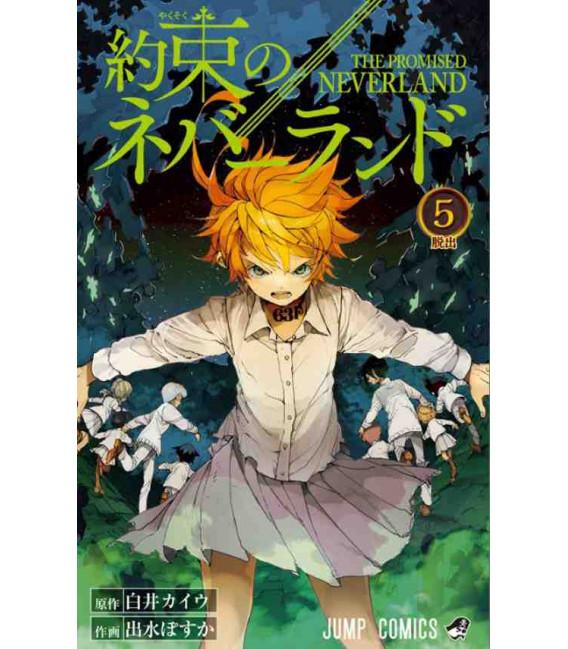 Yakusoku no nebarando (The Promised Neverland) Vol. 5