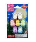 Iwako Puzzle Eraser -  Lucky Owl - (Erasers with different designs) Made in Japan