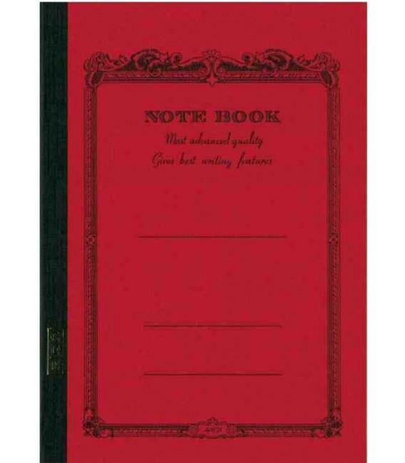 Apica CD15-RN Notebook (B5, red)