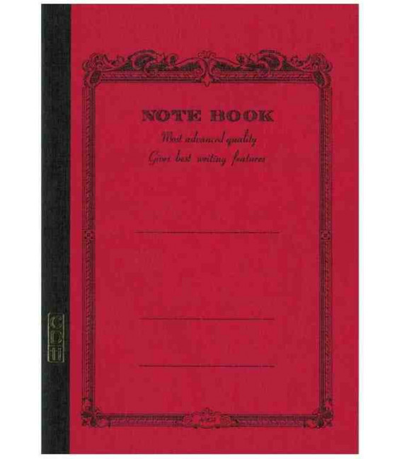 Apica CD11-RN Notebook (Format A5, red)