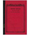 Apica CD11-BK Notebook (Tamaño A5, color rojo)