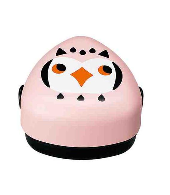 Hakoya Kotoritachi Bento - Model 52689-9 (Owl) - Pink