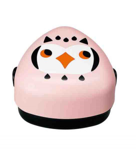 Hakoya Kotoritachi Bento - Model 52689-9 (Owl) - Pink
