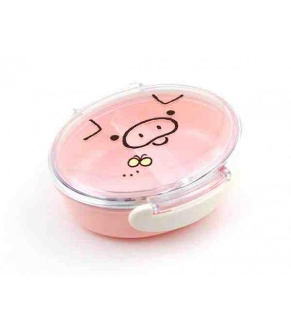 Hakoya Tomodachi Bento - Model 52053-8 (Pig)