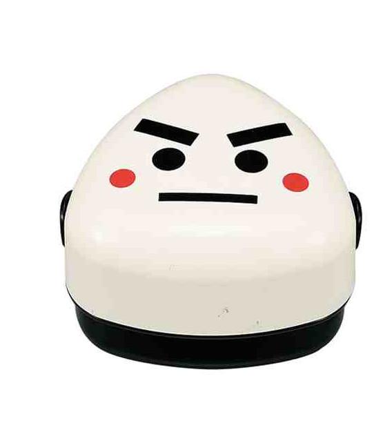 Hakoya Family Onigiri Bento - Size M - Model 50448-4 (Norio) - Black