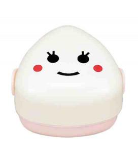 Hakoya Family Onigiri Bento - Size S - Model 50446-0 (Kome) - Pink