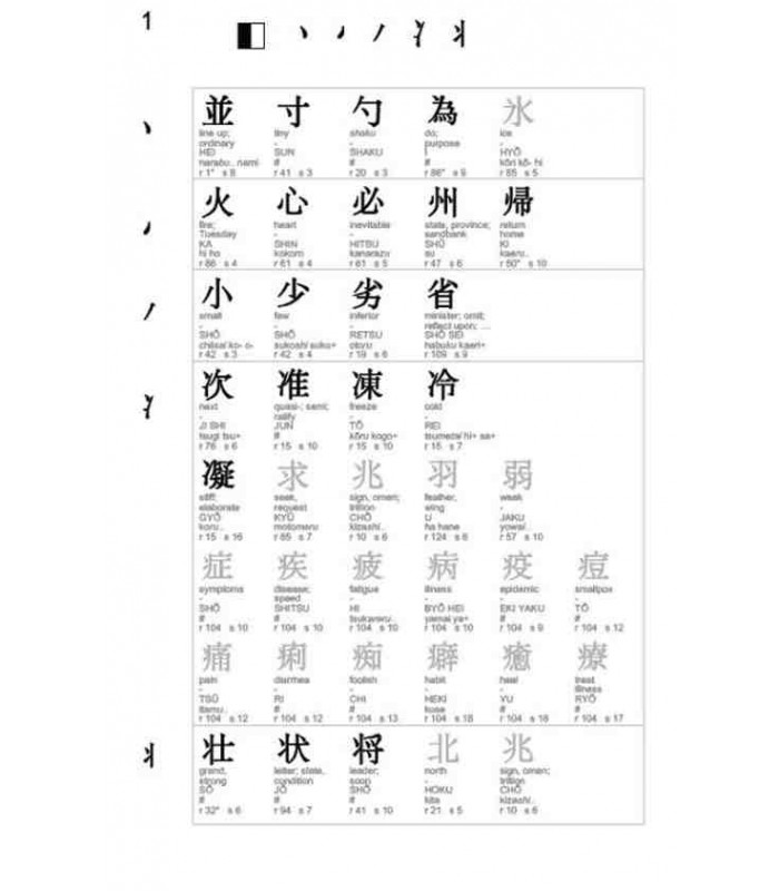 Japanese Kanji Fast Finder - ISBN:9784805314456