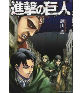 Shingeki no Kyojin (Attack on Titan) Vol. 5