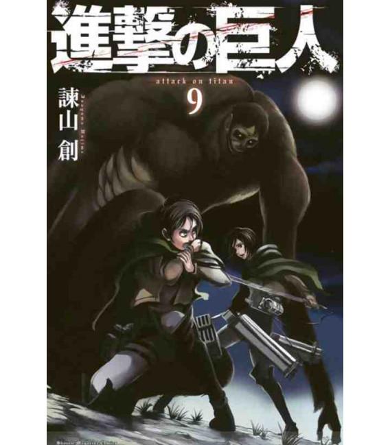 Shingeki no Kyojin  (El ataque de los titanes) Vol. 9