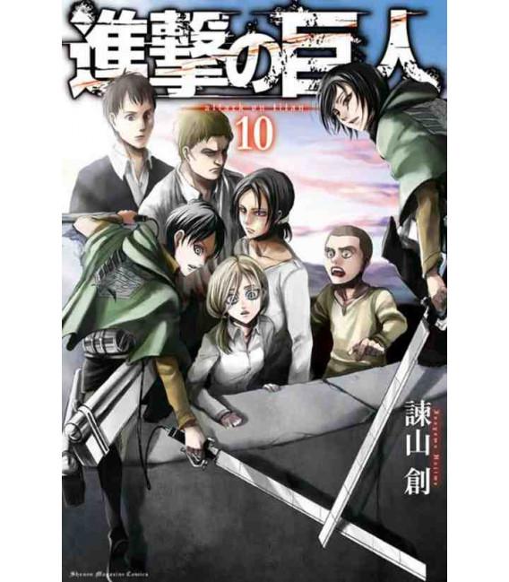 Shingeki no Kyojin (Attack on Titan) Vol. 10