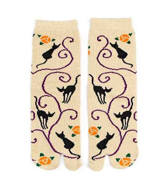 5434da347 Flip flop socks for women – Kurochiku (Kyoto) – Kuroneko Momo model ...