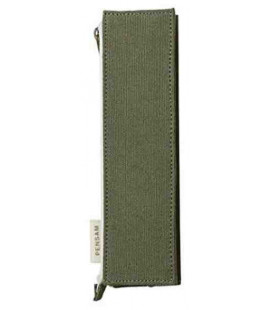 Japanese Magnetic Pen Case - Pensam Model 2002 (Green) - Green Color