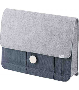 Japanese briefcase A4 size - Frio Model 8416 (Blue) - Blue Color