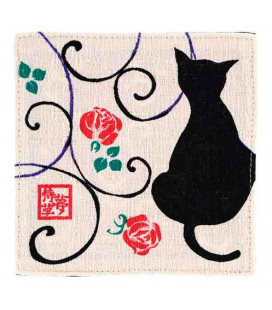 Reversible Coasters Kurochiku (Kyoto)- Model: Kuroneko shiro