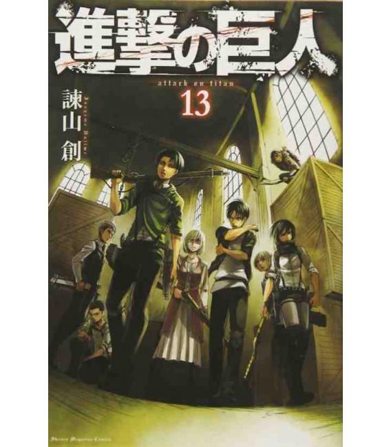 Shingeki no Kyojin (Attack on Titan) Vol. 13
