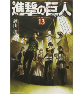 Shingeki no Kyojin (Attack on Titan) Vol. 13