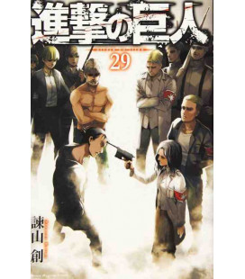 Shingeki no Kyojin (Attack on Titan) Vol. 29