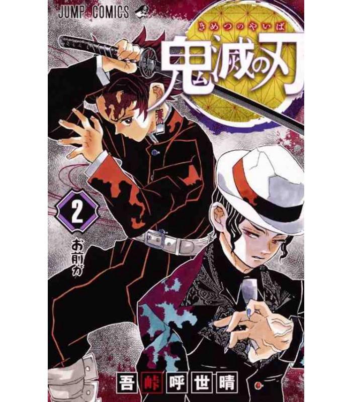 Demon Slayer Kimetsu no Yaiba Vol.2 Jump Comic Japan Book JAPANESE