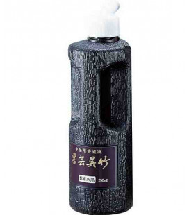Ink for Calligraphy Kuretake BB1-25 - Black and Purple - High Quality - Natural (250 ml)