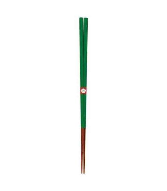 Traditional Japanese chopsticks Kawai - Tokiwamidori color (green)