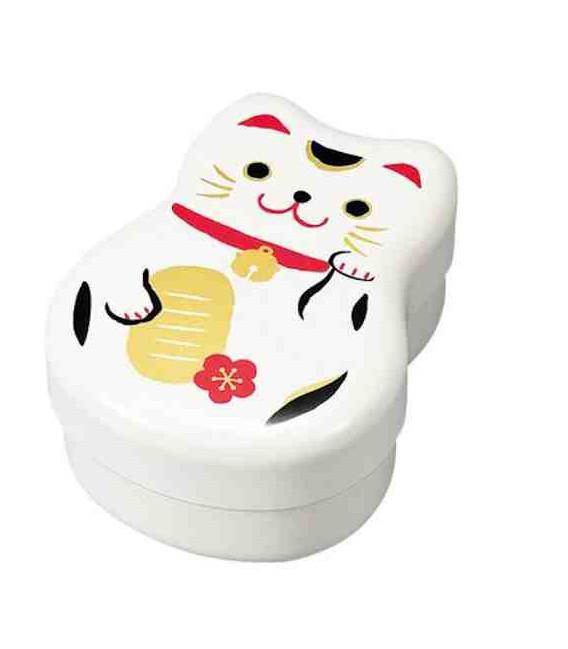 Hakoya Maruko Bento - 50820 Model - White cat