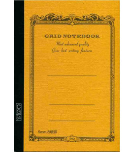 Apica CG54 - Notebook (B6 size - Yellow color- Squared - 104 pages)