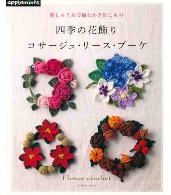 Flower Crochet - Includes 46 designs