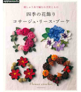 Flower Crochet -  Includes 46 designs