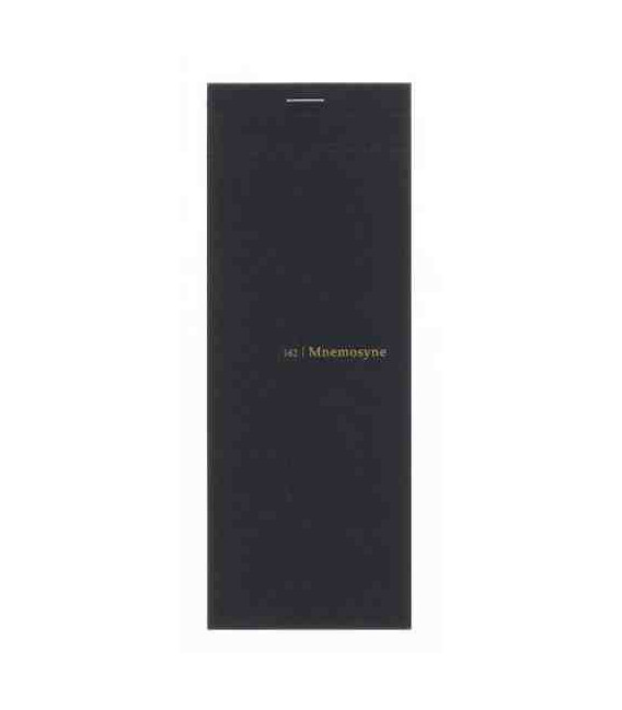Maruman Mnemosyne Notebook - N162 (Size 200x75mm - 5mm Squares - 50 Sheets)