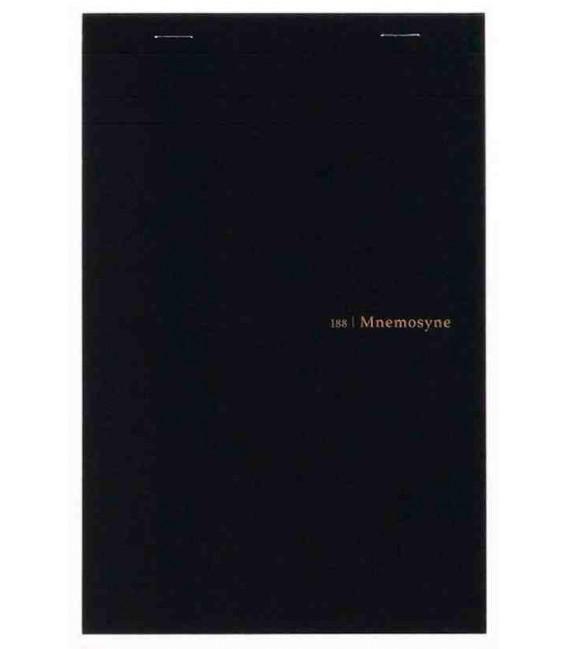 Maruman Mnemosyne Notebook - N188 (Size A5 - 5mm Squares - 70 Sheets)
