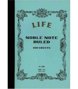 Life Noble Memo - N30 (B6 size - Light blue - Ruled - 100 Sheets)