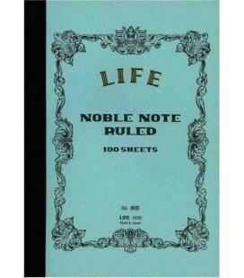 Life Noble Memo - N30 (B6 size - Light blue - Ruled - 100 Sheets)