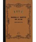 Life Noble Memo - N29 (B6 size - Brown - Plain paper - 100 sheets)