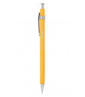 Japanese Pen Sierra (cedar wood made Case) - Black ink - L Size - Yellow color