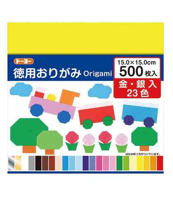 Tokuyo Origami - 15x15 cm - 500 Origami