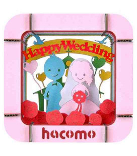 Hacomo - Gift card -  Happy Wedding